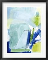 Seaglass Harbor I Framed Print