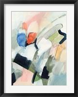 Color Scramble II Framed Print