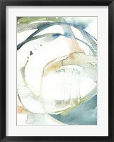 Organic Loop I Framed Print