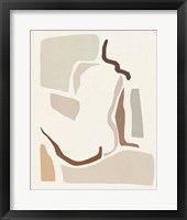 Lounge Abstract I Framed Print