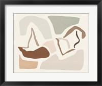 Lounge Abstract III Framed Print
