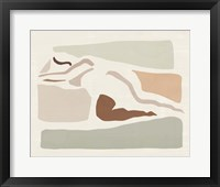 Lounge Abstract IV Framed Print