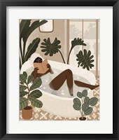 Home Spa I Framed Print