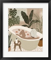 Home Spa II Framed Print