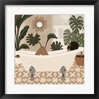 Home Spa IV Framed Print