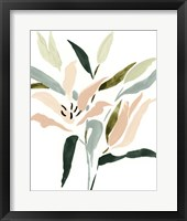 Lily Abstracted II Framed Print