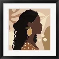 Fruit Earring I Framed Print