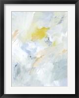 Canary and Sky I Framed Print