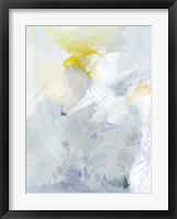 Canary and Sky II Framed Print