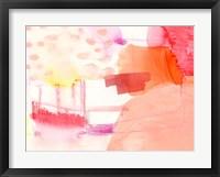 Aprikose I Framed Print