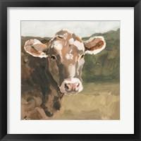 On the Pasture I Framed Print
