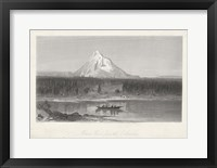 Framed Mount Hood from the Columbia