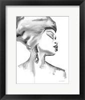 Framed Woman III BW