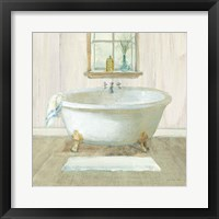 Framed Farmhouse Bathtub