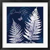 Dark True Blue VI Framed Print