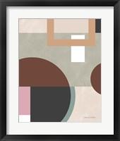 Soft Modern II Framed Print