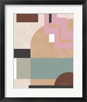 Soft Modern I Framed Print