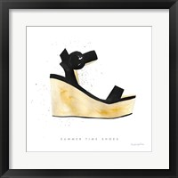 Beach Glam VII Framed Print
