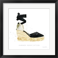 Beach Glam VI Framed Print