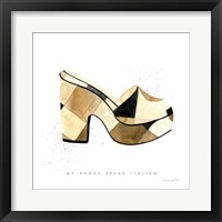 Beach Glam V Framed Print