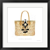 Beach Glam IV Framed Print
