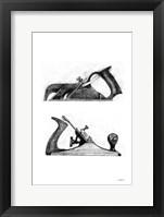 Planes Framed Print