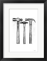 Hammers Framed Print