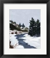 Framed Winter Trails