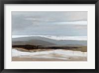 Framed January Landscape