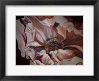 Framed Moody Flower