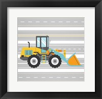 On the Road 1 Framed Print