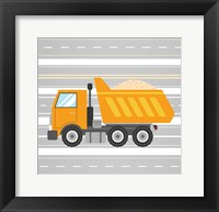 On the Road 3 Framed Print