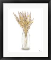 Dried Flower Yellow III Framed Print