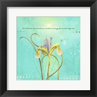 Framed Creative Visualization IV-Intuition