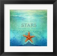 Framed Living Out Loud I-Stars