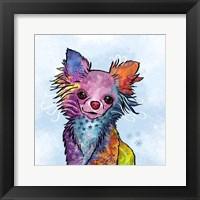 Framed Colorful Pets I