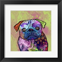 Framed Colorful Pets III