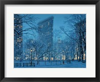 Framed Winter Icon