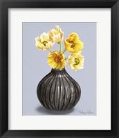 Poppies in Vase I Framed Print