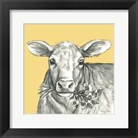 Framed Cow 2