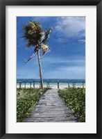 Framed Beach Shore X
