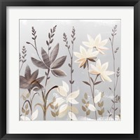 Soft Nature Cream II Framed Print