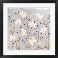 Soft Nature Cream III Framed Print