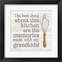 Framed Grandparent Life VII-Memories