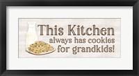 Framed Grandparent Life Panel IV-Cookies