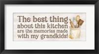 Framed Grandparent Life Panel V-Memories