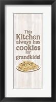Framed Grandparent Life Vertical I-Cookies