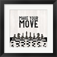 Framed Rather be Playing Chess IV-Your Move
