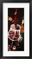 Framed Pouring Ruby