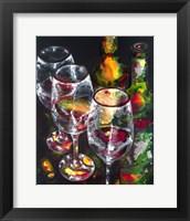 Framed Wine Presence